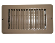 "Brown Register Vent 8""X 4"" 