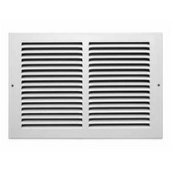 "Stamp Fixed Face Return Air Grill 12""X 8"" 