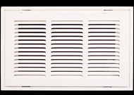 "Stamp Fixed Face Return Air Grill 16""X 8"" 
