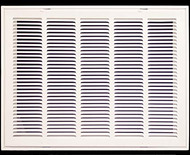 "Stamp Fixed Face Return Air Grill 18""X 24"" 