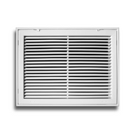 "Stamp Fixed Face Return Air Grill 24""X 6"" 
