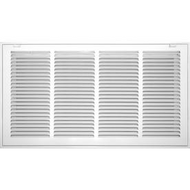 "White Filter Grille 12""X 24"" 