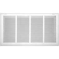 "White Filter Grille 16""X 25"" 
