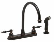 Premier | 076335145488 | Double-Handle Kitchen Faucet, Lead Free
