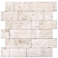 Palermo Ivory Travertine Mosaic | Mosaic | 76-320