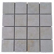 Mesa Almond Mosaic | Mosaic | 12 X 12