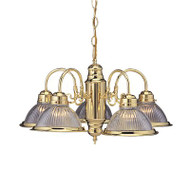 MONUMENT 671577 TRADITIONAL CHANDELIER POLISHED BRASS | BROAD PALLET