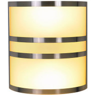 MONUMENT 617615 BRUSHED NICKEL WALL SCONCE | BROWN PALLET