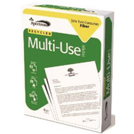 SPECTRUM COPY PAPER WHITE 3-HOLE PUNCH RECYCLED 10 REAMS | BROWN PALLET