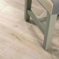 MZ A698 MEDIUM DARK BROWN 6X36 | Wood Look Tile | 2nd Quality [13.05 SF / Box]