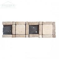 Noce Chiaro Component 4x12 | Stone Deco | RCL0001