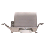 NATIONAL BRAND ALTERNATIVE RECESSED LIGHTING BAFFLE TRIM 4 IN. WHITE WITH WHITE TRIM RING MR16 | 617559 | 50 Watts