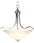 WELLINGTON CHANDELIER LIGHT BRUSHED NICKEL FINISH | 617247