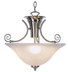 WELLINGTON PENDANT BRUSHED NICKEL FINISH | 076335095009