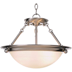 Monument 2 Lights Brushed Nickel Pendant| 076335567952
