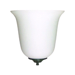 "8"" 1 LIGHT WALL SCONCE W/ ALABASTER GLASS 