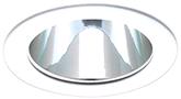Recessed Lighting Universal Low Voltage Alzak Reflector Trim 4 In. With White Trim Ring Mr16 50 Watt Lamp | 076335087535