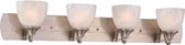 MONUMENT® VANITY FIXTURE, BRUSHED NICKEL | 748066048443