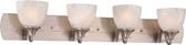 Monument | Vanity Fixture | Brushed Nickel | 748066048443