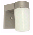 Royal Cove 1-Light Silver Painted Outdoor Wall Mount Lantern | 076335258843