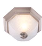 Monument DECORATIVE CEILING FIXTURE, BRUSHED NICKEL, 15 IN. | 076335617398