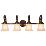 "4 - LIGHT 32"" BATH-ORB INCANDESCENT