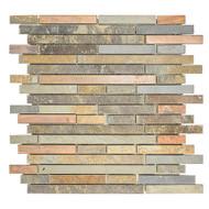 Satin Copper Slate | Stone Mosaic | FOB TN | FREE SHIPPING