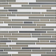 Trifecta Blend West End White | Glass Mosaic | FOB TN | FREE SHIPPING