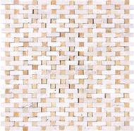 Ivory Giallo Travertine   Mosaic   FOB TN   FREE SHIPPING