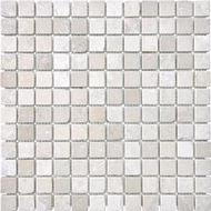 Tumbled Berkshire Crema   1 x 1 Mosaic   FOB TN   FREE SHIPPING