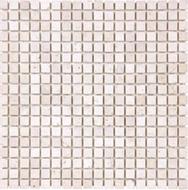 Tumbled Ivory Travertine   5/8 x 5/8 Mosaic   FOB TN   FREE SHIPPING