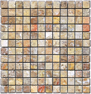 Tumbled Scabos Travertine | Mosaic | FOB TN | FREE SHIPPING