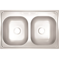 Stainless Steel Sink | 3-holes | Double Basin Kitchen Sink | FOB TN |