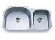 Stainless Steel Sink | Under Mount Sink | Double Bowl | FOBTN |
