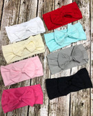 Nylon Bow Headbands