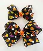 Black with Candy Corn
