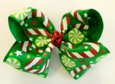 Green Sparling Candy Cane