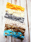 Variety of Cotton Bow Headbands