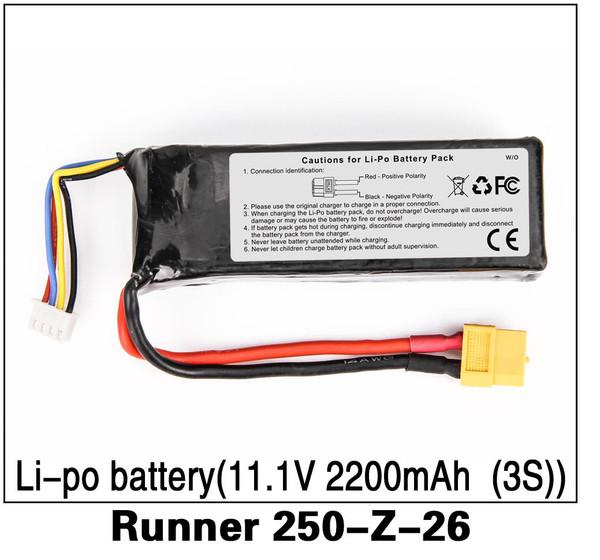 Walkera Runner 250 Li-po Battery Runner 250-Z-26