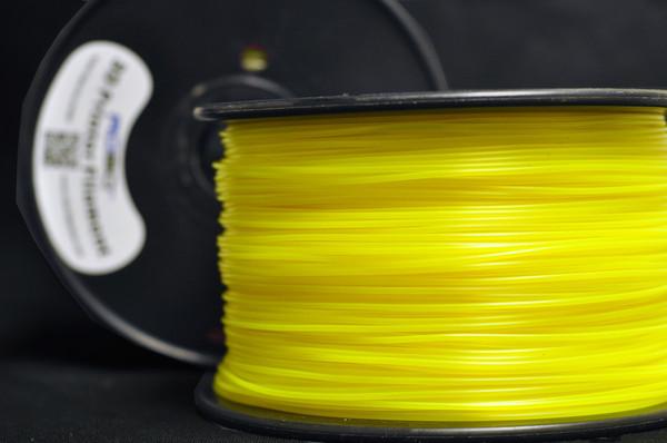 Robo 3D Thunder Glow Yellow PLA Plastic Printer Filament 1 kg