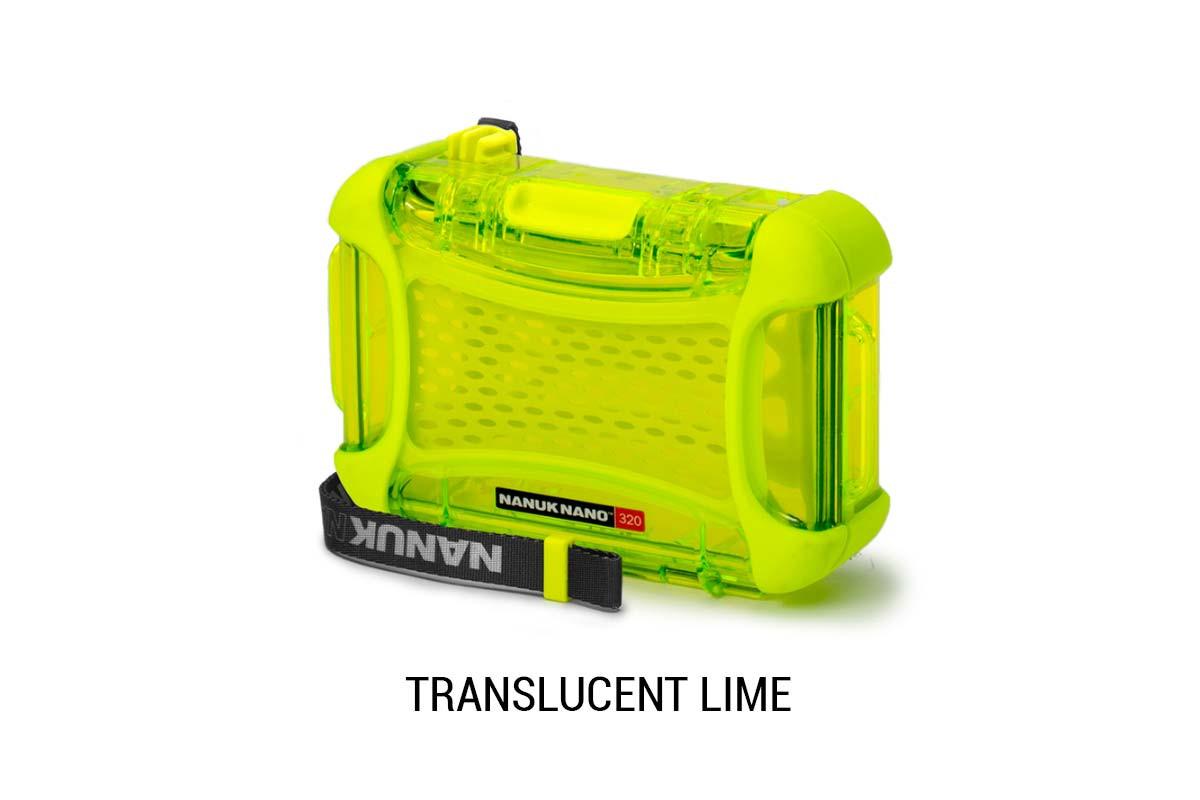 Nanuk Nano 320 Translucent Lime