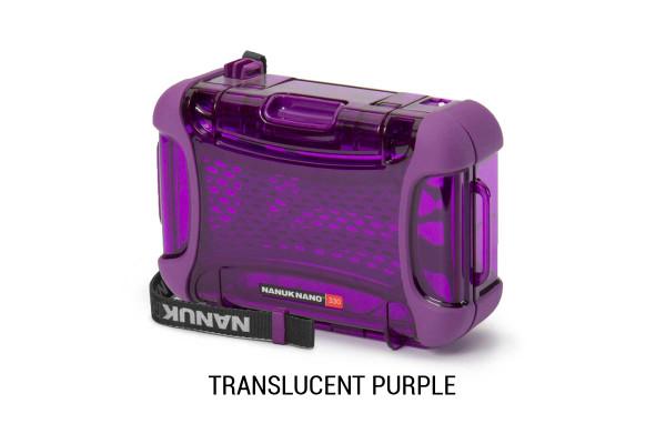 Nanuk Nano 330 Translucent Purple