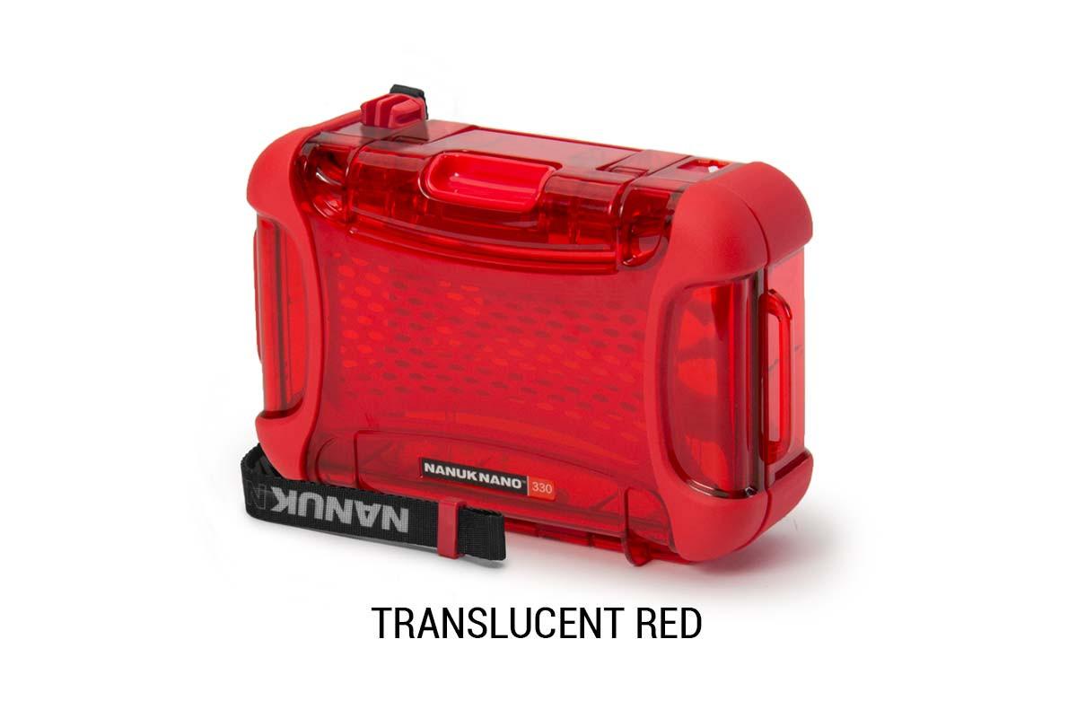 Nanuk Nano 330 Translucent Red