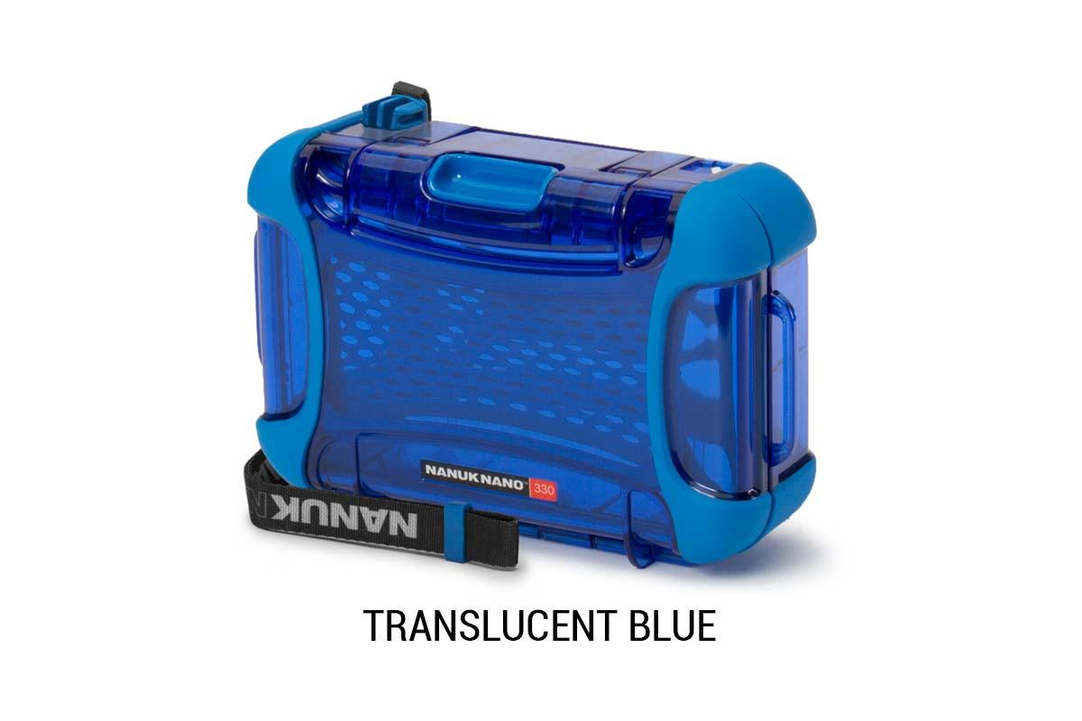 Nanuk Nano 330 Translucent Blue