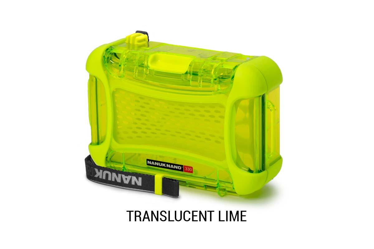 Nanuk Nano 330 Translucent Lime