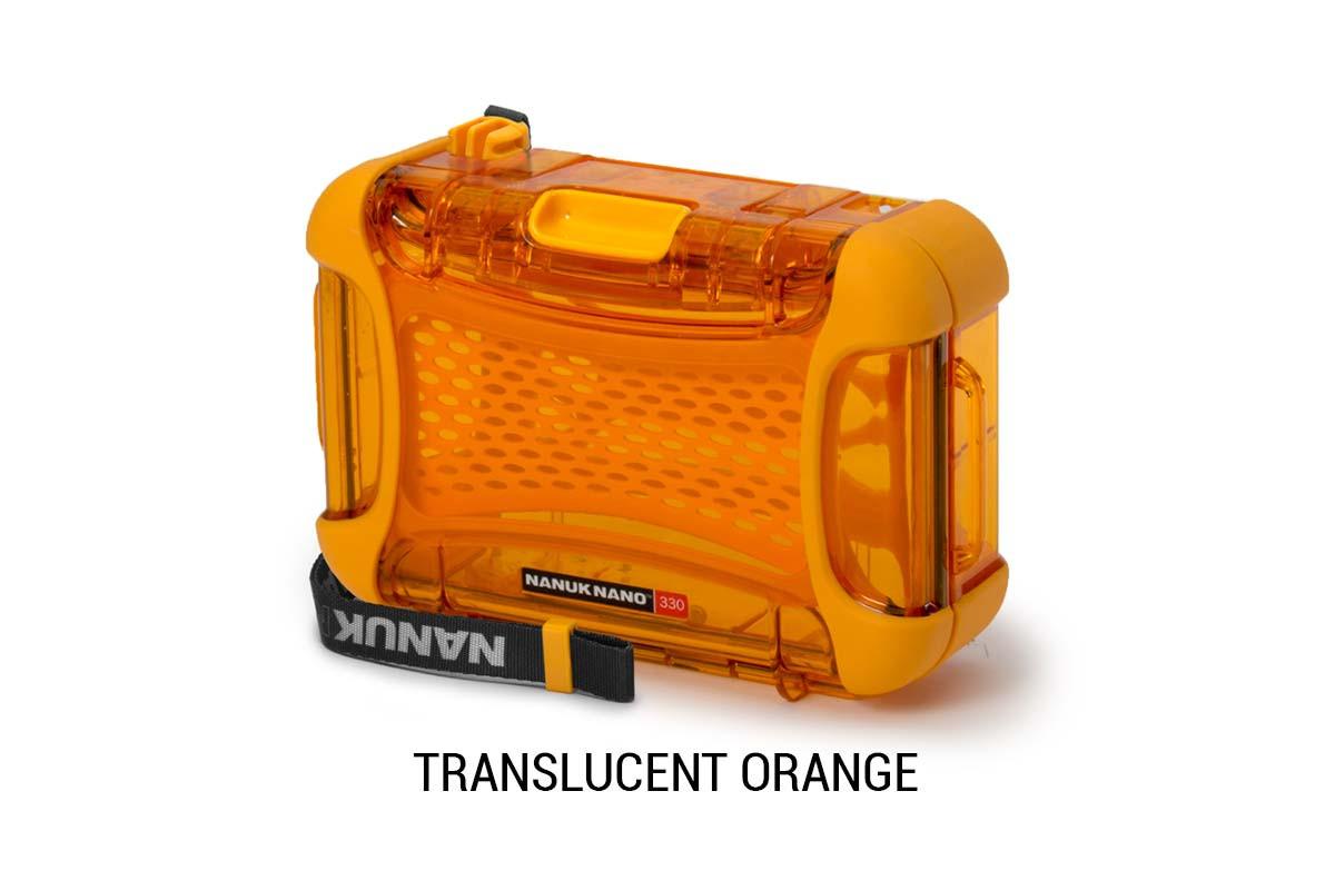 Nanuk Nano 330 Translucent Orange