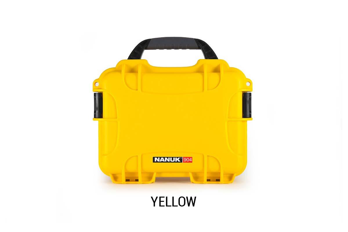 Nanuk 904 Case w/foam Yellow