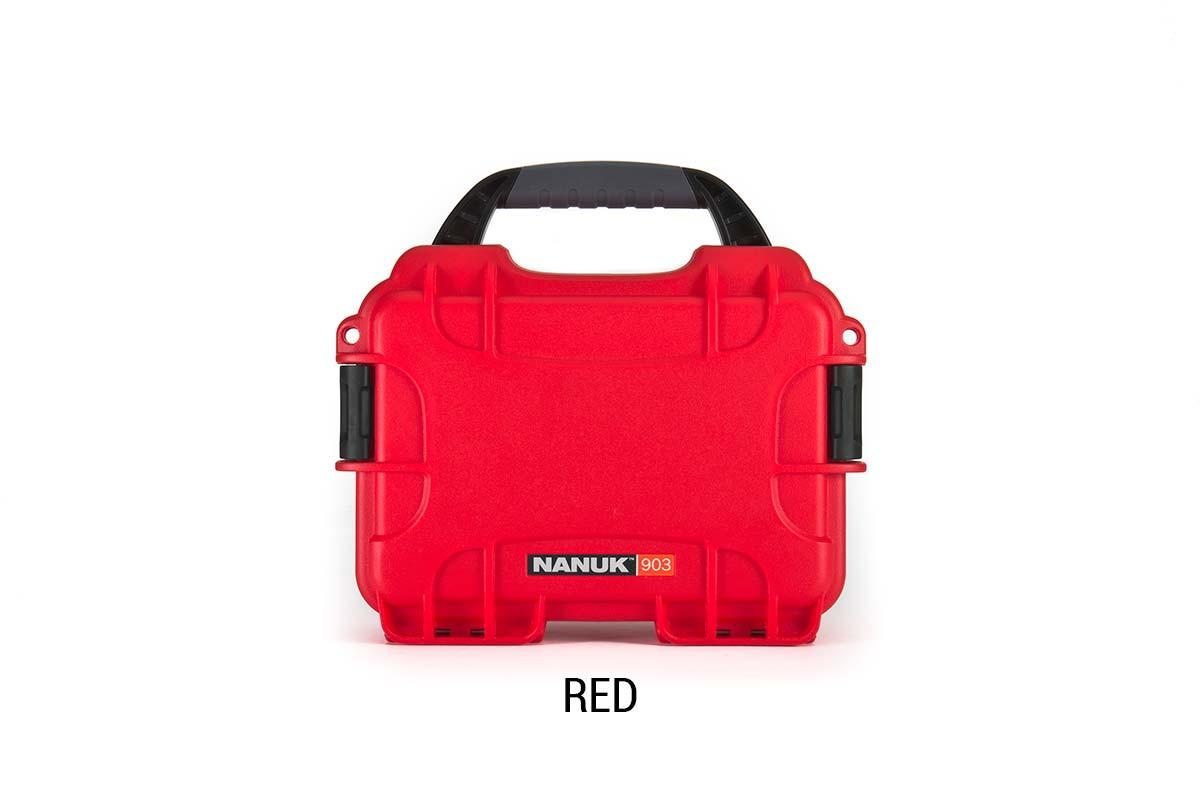 Nanuk 904 Case w/foam Red