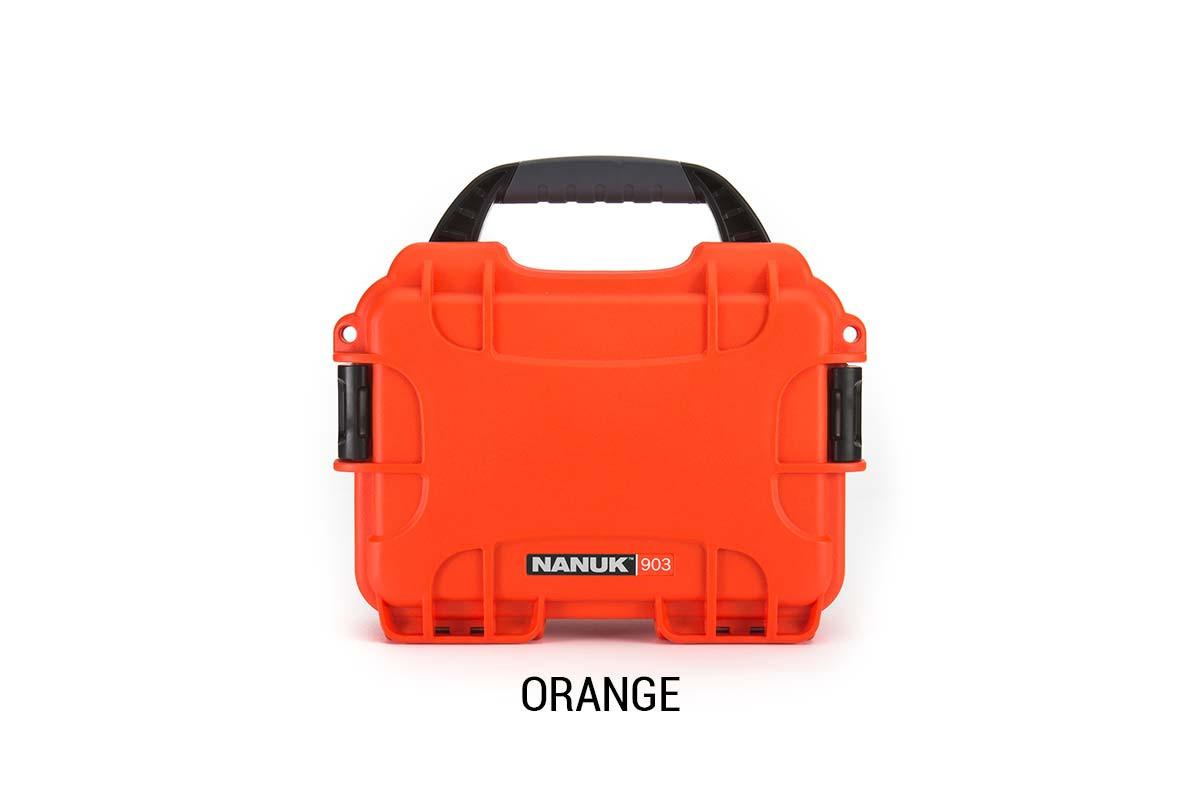 Nanuk 904 Case w/foam Orange