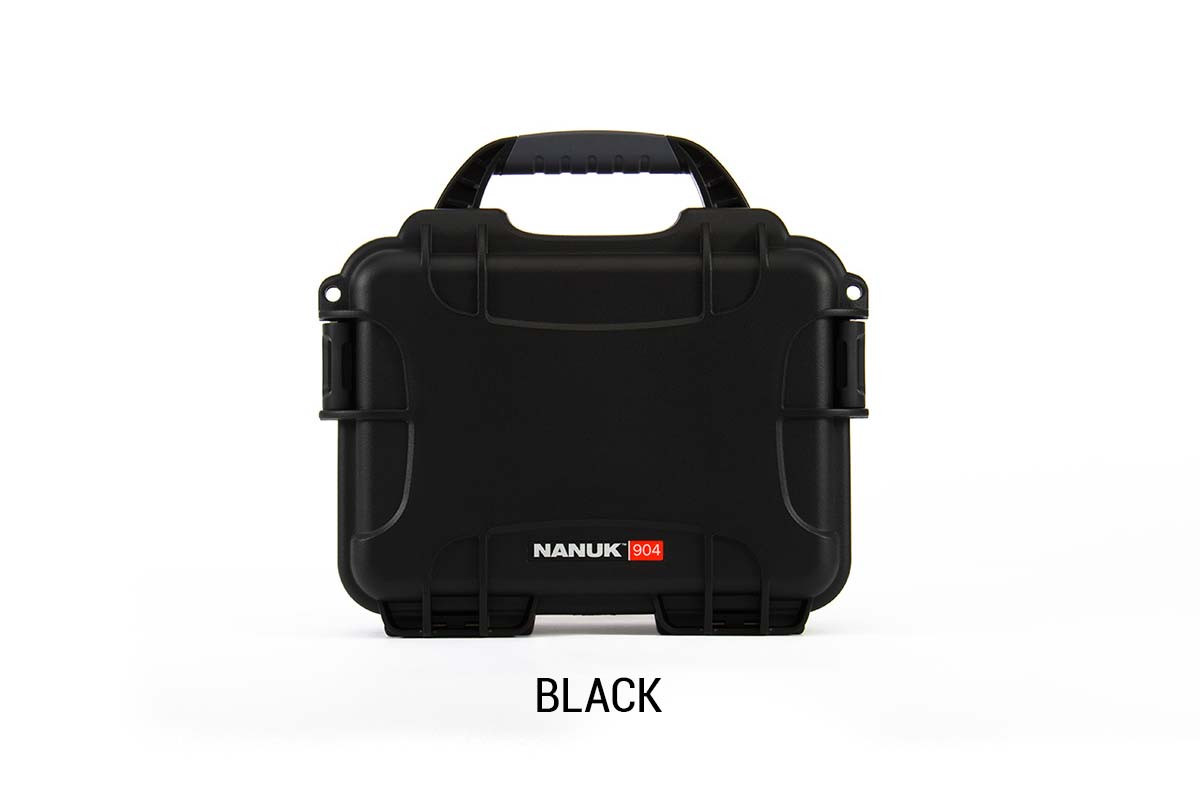 Nanuk 904 Case w/foam Black